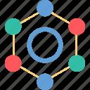 cell, hex, hexagon, molecule icon