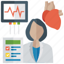 cardiology, ecg, ecg machine, ecg monitor, electrocardiogram icon