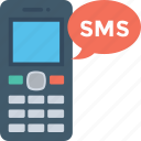 cell phone, communication, message, mobile, sms, text icon