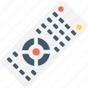 controller, remote, remote control, tv remote, wireless icon