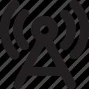 wifi antenna, wifi, wireless network, wifi tower, signal tower icon