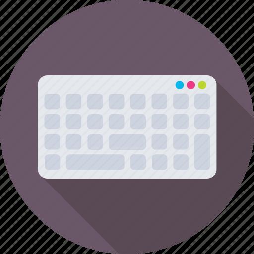 computer keyboard, device, keyboard, typing, wireless icon