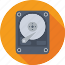 hard disk, hard drive, hardware, hdd, storage icon