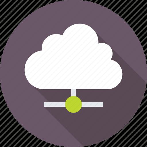 cloud computing, cloud network, cloud sharing, cyberspace icon