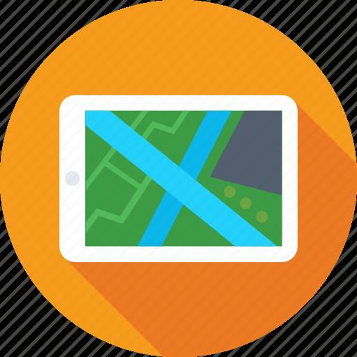 gps, gps device, mobile, mobile maps, navigation icon