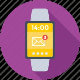 hand watch, smartwatch, timepiece, watch, wristwatch icon