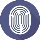 fingerprint, fingerprint scanning, thumb impression, thumb print icon