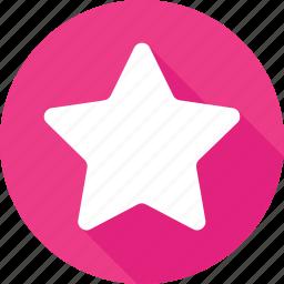 favorite, ranking star, rating star, star, web rating icon