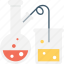 beaker, chemical, flask, laboratory, research icon