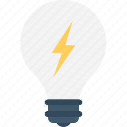 bulb, electric bulb, illumination, light, light bulb icon
