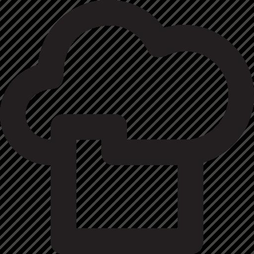 cloud, cloud folder, data folder, folder, icloud icon