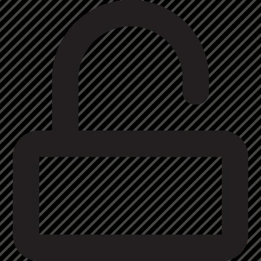 opening, safe, unlock, unlocked, unlocked padlock, unlocking icon