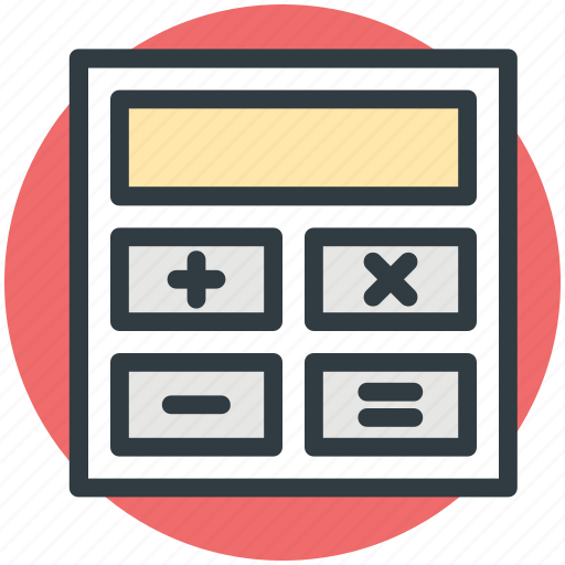adding machine, calc, calculating machine, calculation, calculator icon