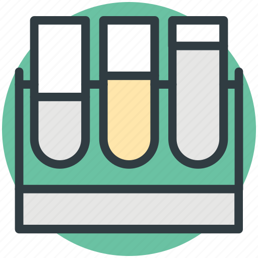 apparatus, chemical, lab test, laboratory test, test tubes icon