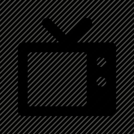 Electronics, retro tv, tv, tv set, vintage tv icon - Download on Iconfinder