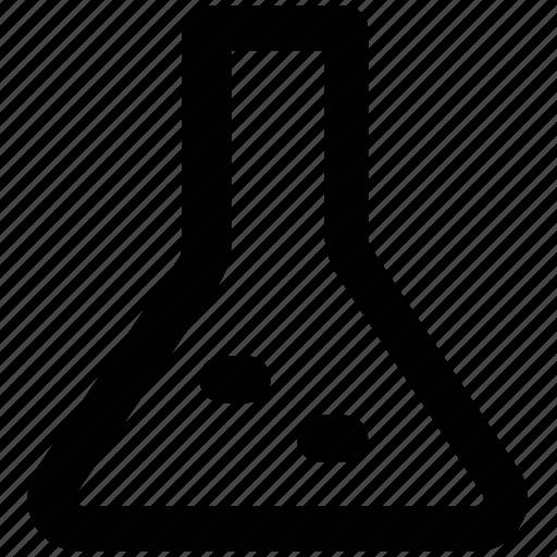 beaker, lab test, laboratory equipment, science lab instruments, test tube icon