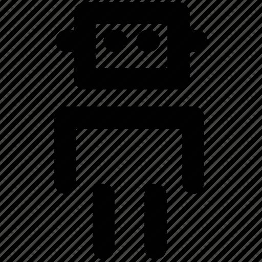 advanced technology, bionic robot, mechanical man, mechanical person, robot, robotic machine, technology icon