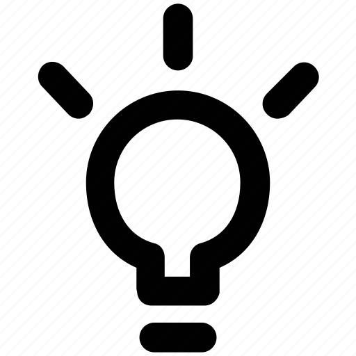 bright, bulb, electricity, idea, innovation, invention, light bulb icon