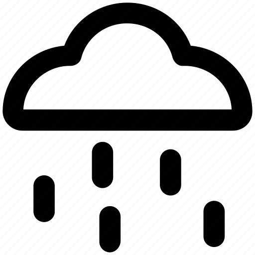 climate, cloud, rain storm, raining, rainy weather, weather icon
