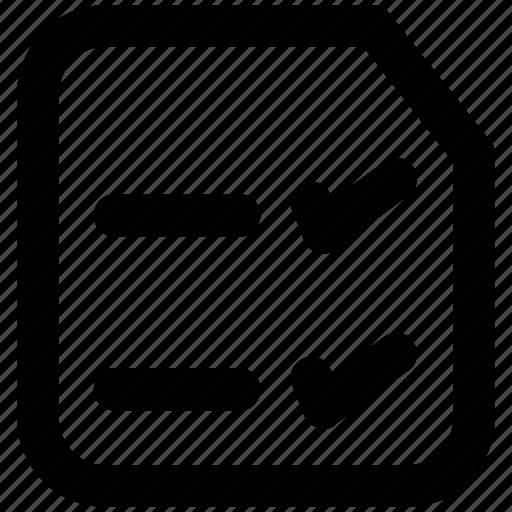 checklist, diet chart, list, prescriptions, report, to do's icon