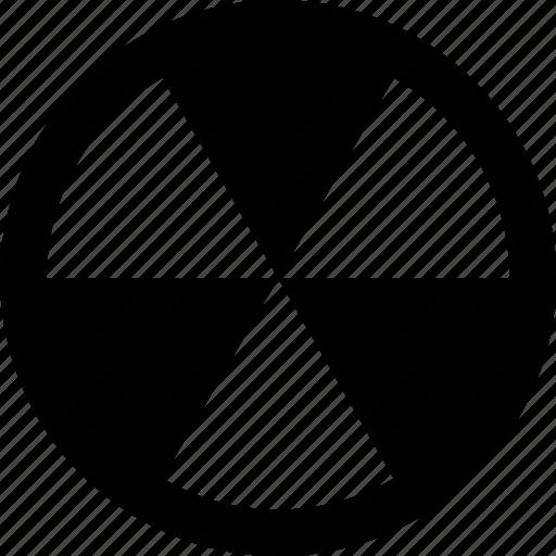 alt, radioactive icon