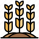 agriculture, farm, farming, nature, sprout icon