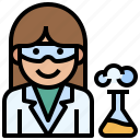 doctor, female, profession, research, scientist