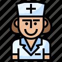 hospital, nurse, nursing, syringe, user icon