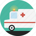 ambulance, car, emergency, medical icon
