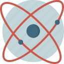 atomi, danger, radiation, science icon