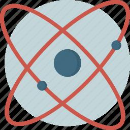 atomi, danger, radiation, science icon