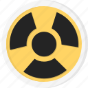 danger, biohazard, radiation, atom