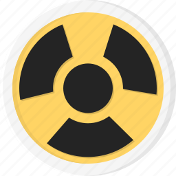 atom, biohazard, danger, radiation icon