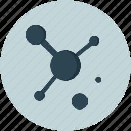 medical, medicine, science, virus icon