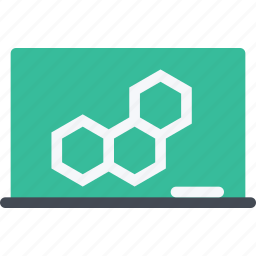 board, chemical element, chemistry, science icon