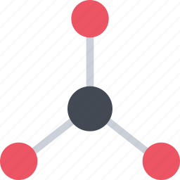 chemical structure, chemistry, physics, science icon
