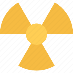 atomic, danger, physics, radiation, science icon