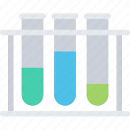 chemistry, lab, science, test tubes icon