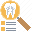 dental, dentistry, loupe, root, teeth, tooth