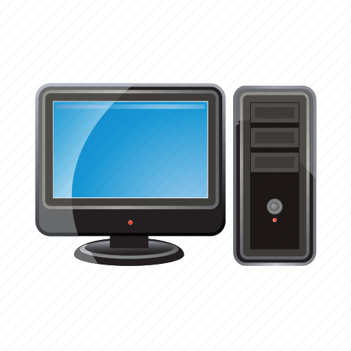 computer, device, monitor, pc, screen, technology icon