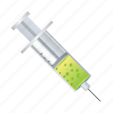 inection, injection, medical, syringe icon