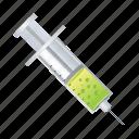 inection, injection, medical, syringe icon