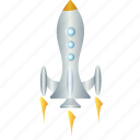 rocket, energy, power, space, spaceship icon