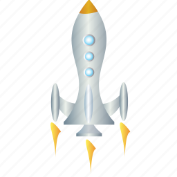 energy, power, rocket, space, spaceship icon