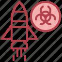 bio, chemistry, science, war, weapon icon
