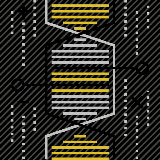 cloning, code, dna, engineering, genetic, genetics, helix icon