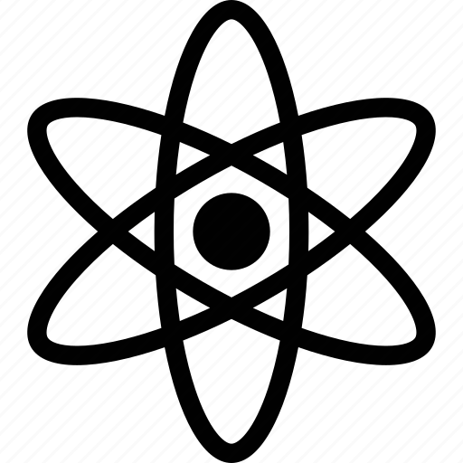 atom, molecule, physics, science icon
