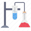beaker, tube, testing, flask