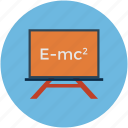 einstein formula, formula of relativity, physics, relativity formula icon