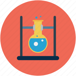 experiment, flask, lab test, laboratory icon